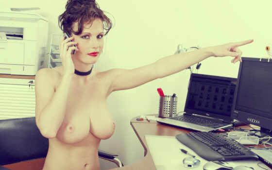 грудастая секретарша