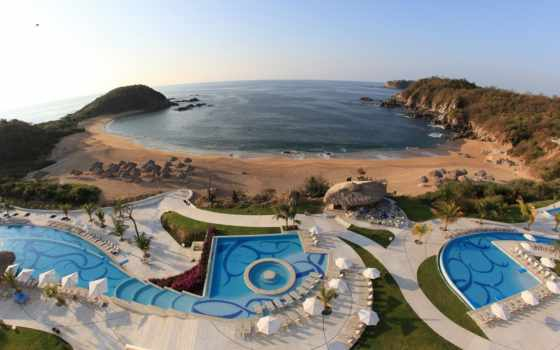 resort, huatulco, спа
