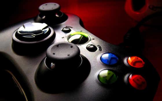 xbox, геймпад, приставка, игровая, картинка, gamepad,