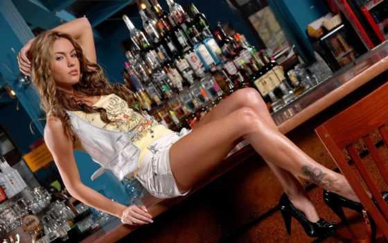 модель, bar, туфли, hot, плакат, veronika, print, fasterova, алкоголь,