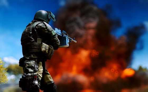 battlefield, военные, солдат,