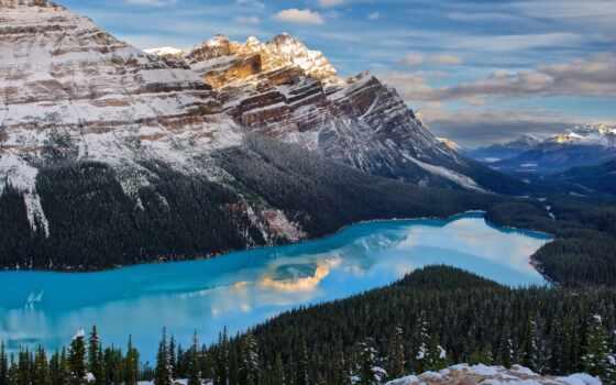 озеро, banff, park, national, канада, природа, peyto, канадский, онтарио, nunavut