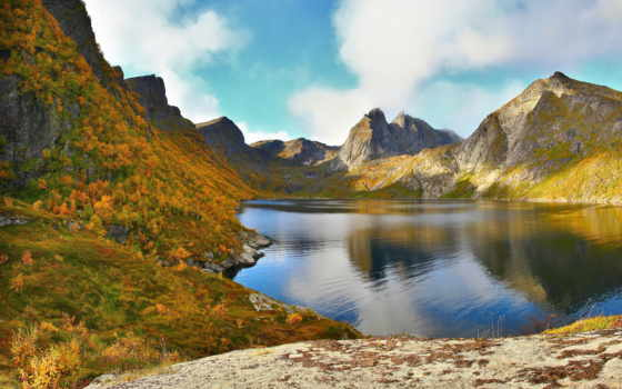 озеро, горы, природа Фон № 88670 разрешение 5000x3333