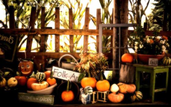 halloween, pumpkins, осень, пасть, dark,