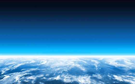 land, горизонт, planet, cosmos, плоский, line