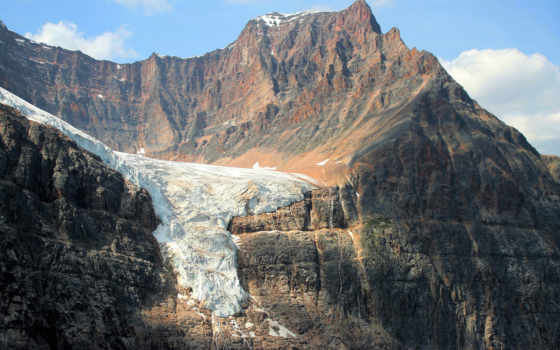ледник, горы