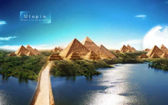 ,utopia, piramid,