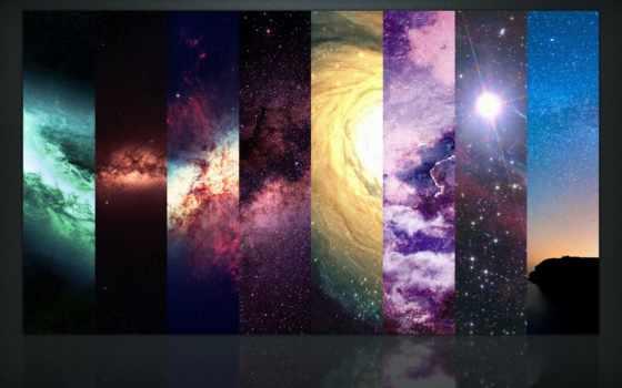 nebula, космос, planets