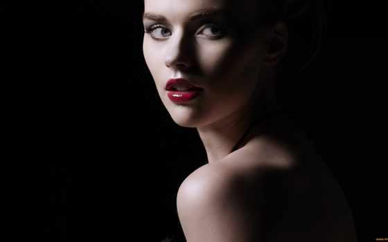освещение, photography, глаза, женщина, свет, this, rembrandt, красивые,