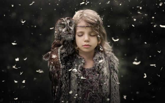 children, resolutions, mobile, desktop, сова, мишка, чувства, photos,