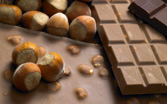 chocolate, есте, cu, фундук, ciocolata, alune,