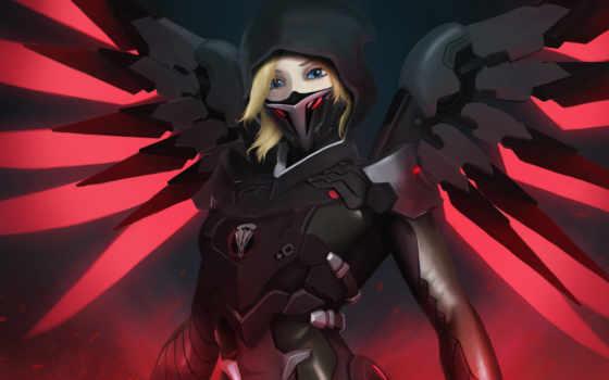 mercy, overwatch, blackwatch, artwork, you,