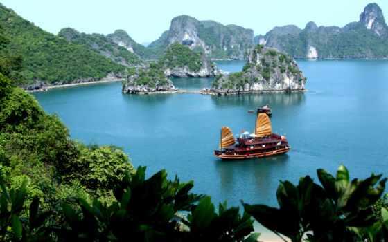 vietnam, country, burning, bay