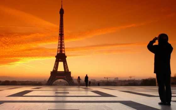 эйфелева, башня, франция