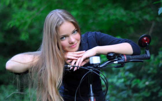 девушка, bike, devushki