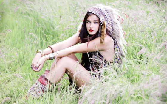 indian, девушка, fashion, hot, headdress, widescreen, girls,