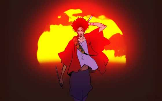 самурай, чамплу, anime, art, champloo, смешные, comics, приколы, other, more,