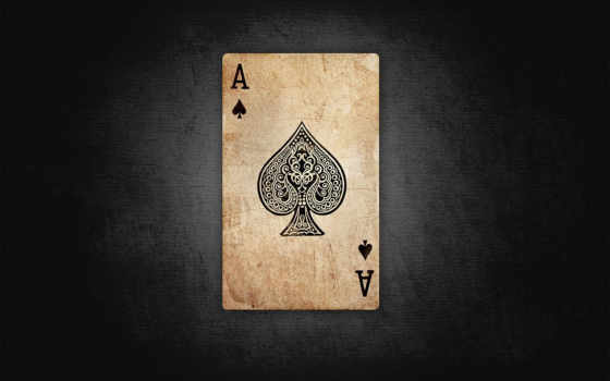 ace, spades Фон № 20272 разрешение 1680x1050