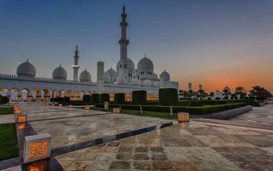 mosque, шейха, зайда, abu, даби, uae, grand, dhabi, sheikh,