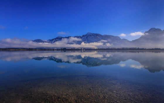 бавария, германия, озеро Фон № 98988 разрешение 1920x1200