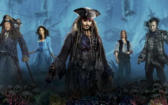 пираты, карибского, моря, мертвецы, рассказывают, сказки, фильма, кадры, caribbean,