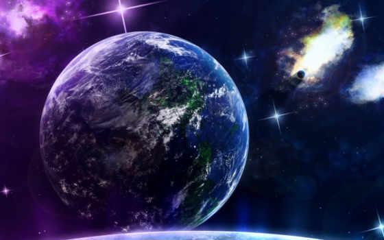 космос, планеты, earth