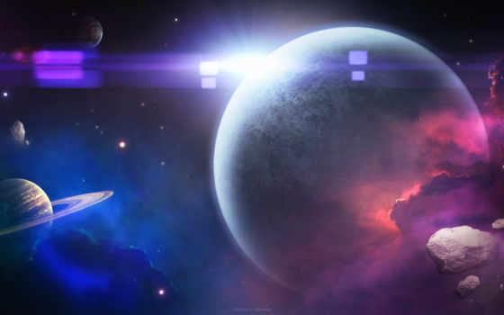 космос, art, планеты Фон № 71278 разрешение 1920x1080