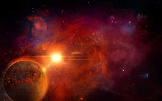 universe, необъятная, луна