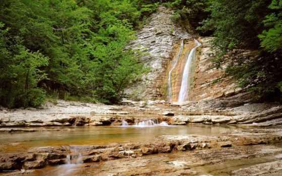 гибели, водопад, каньон, скалы, фоны, категории, sun, природой, одинокий, камни,