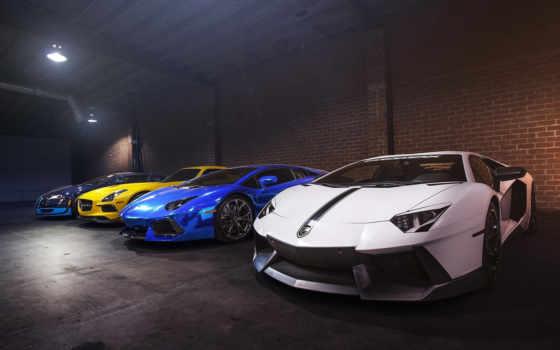 bugatti, mercedes, гараж, lamborghini, amg, imgrab, sls, взгляд, спорткар, black,