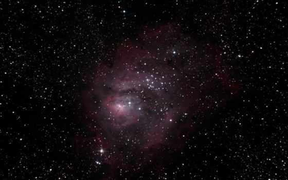 космос, lagoon, созвездии, стрельца, облако, межзвёздное,