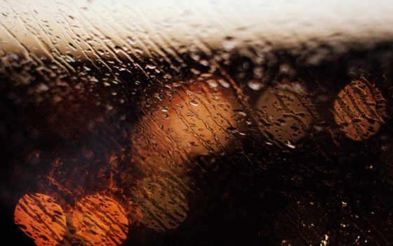 дождь, размытость, wide, капли, bokeh, glass, стекле,
