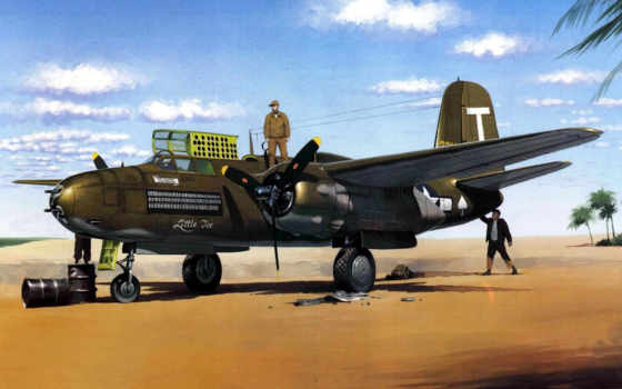 douglas, havoc, штурмовик, бомбардировщик, easy, модель, fly, дб, рисунок,