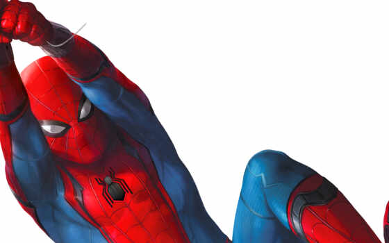 мужчина, паук, homecoming, marvel, studio, фон