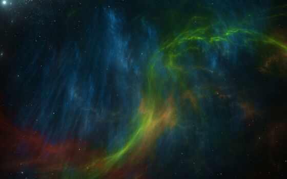космос, art, nebula, star, planet, color, universe
