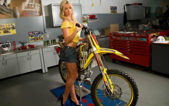 girls, bikes, девушки, stefanie, sexy,
