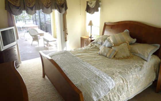 спальни, спальня, дизайн