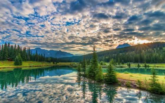 природы, нов, пейзажи -