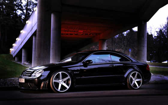 mercedes, benz, black, clk, amg, серия, concavo, cw, голодной, панды,