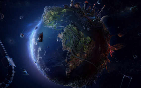 game, ученый, день, land, том, blue, луна