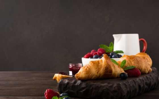 круассаны, viennoiserie, kruassana, еда, завтрак, еще, life, телефон