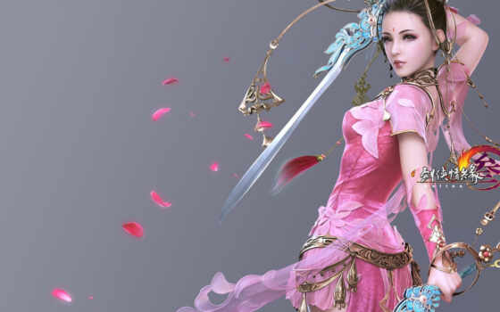 fantasy, идея, art, genobatin, воин, have, see