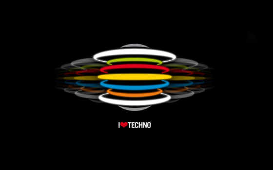 techno, love