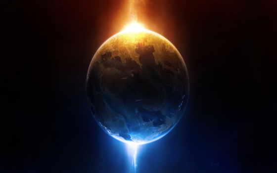 planet, cosmos, energy