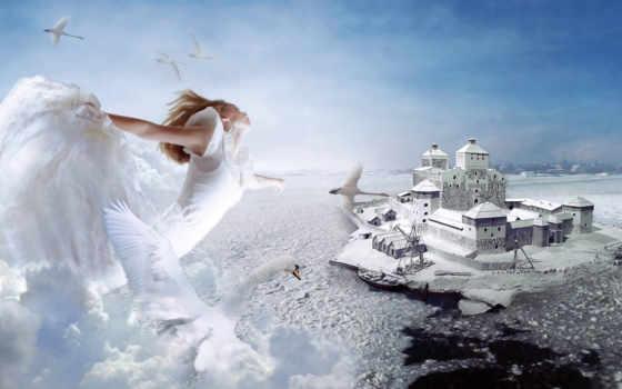 winter, intrenoaptesizi, миры, fantasy, любителей, ano, mysterious, всегда, дек, красивый,