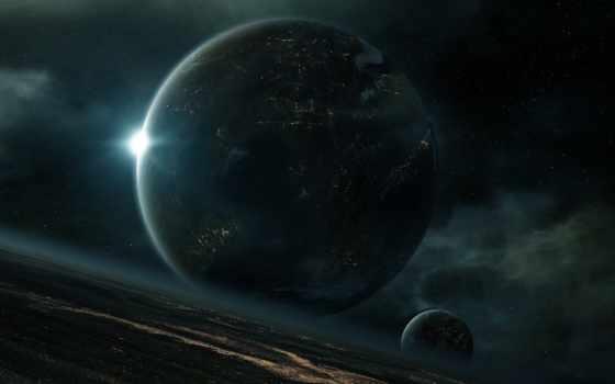 cosmos, планеты, звезды, planet, обитаемая, огни, nebula, роскосмос, лет, показал, будет,