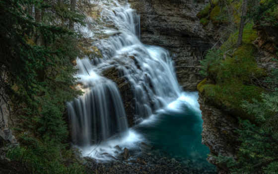 pr, peizazi, природа, deadpool, водопад, скалы, natur,