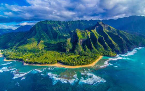 hawaii, природа, горы, ocean,