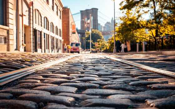 new, york, реагировать, поле, vectore, foto, город, тротуар, google, обустройство, resource