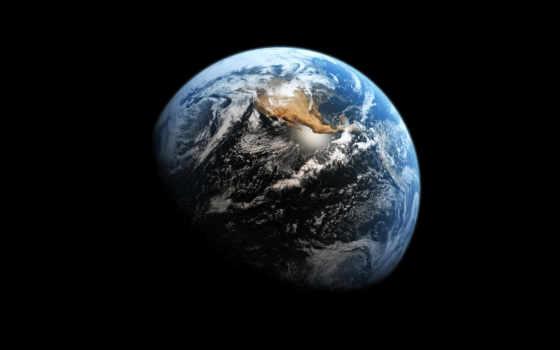 land, planet, космос